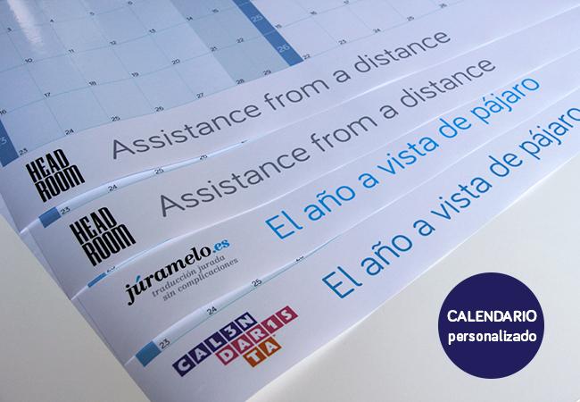 Calendarista calendario personalizado