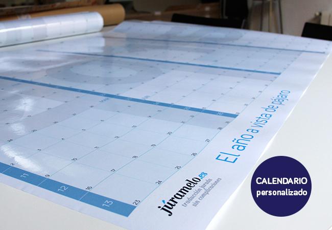 Calendarista calendario personalizado juramelo