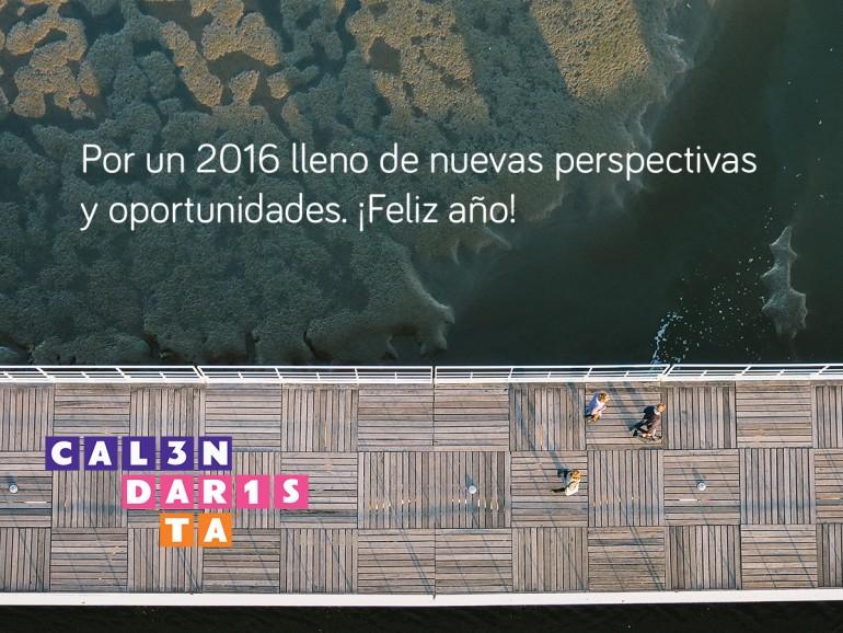 Os Deseamos Un 2016 Lleno De Amor Salud Y Productividad Calendarista