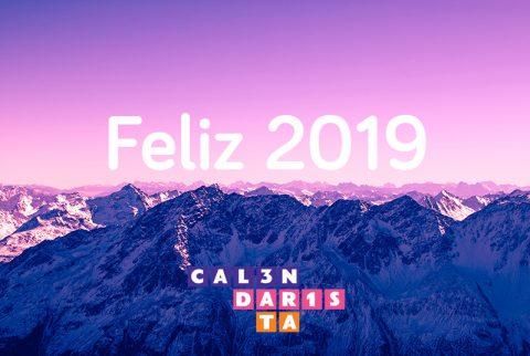 Feliz 2019 calendarista