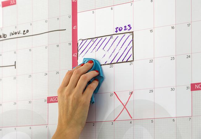 Calendario Gigante 2021 Calendario 2021 (A1) reescribible   Calendarista